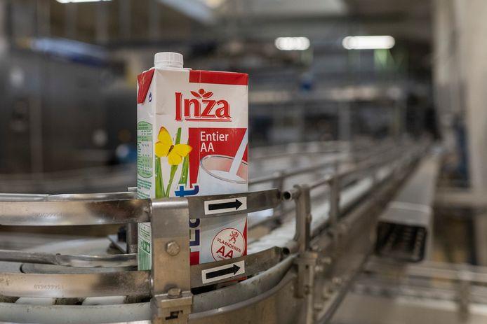 De Milcobel-fabriek in Schoten produceerde melk onder het bekende merk Inza