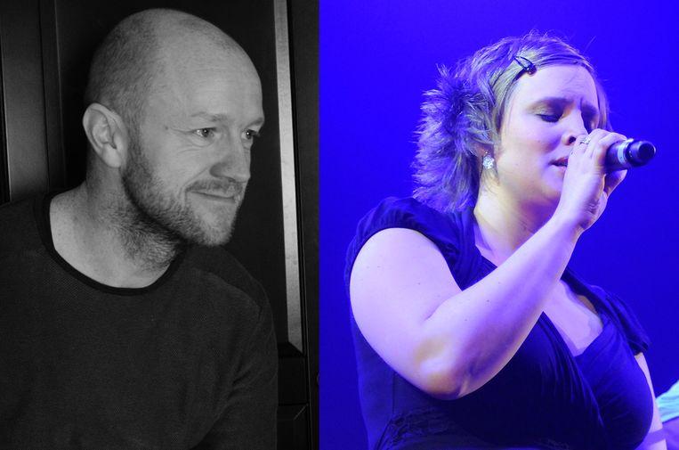 Stijn Sterckx en Hannelore Bedert. Beeld Facebook/Photo News