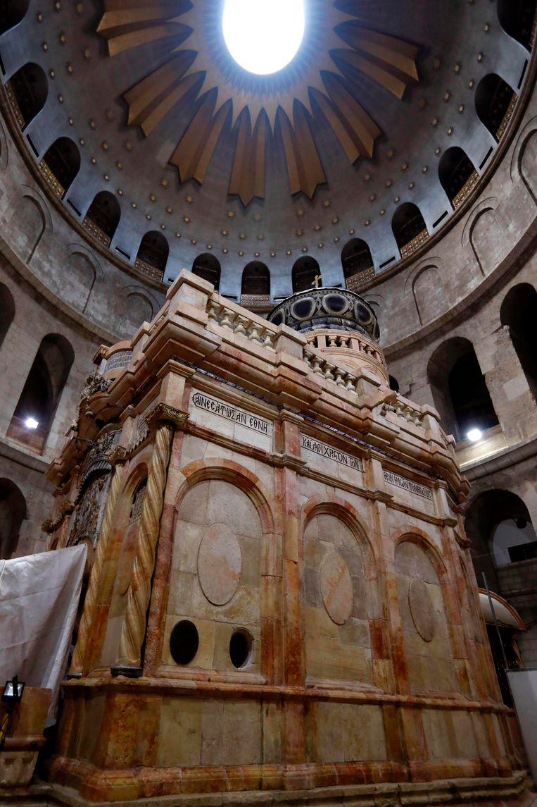 De Heilig Grafkerk in Jeruzalem.