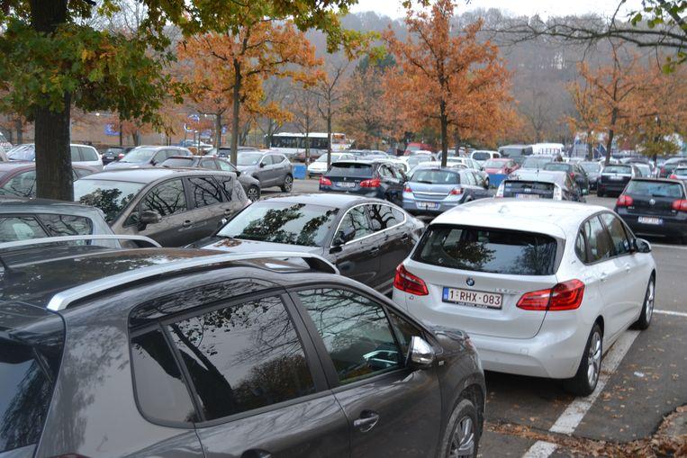 De parking Centrum - Demervallei - blijft bereikbaar