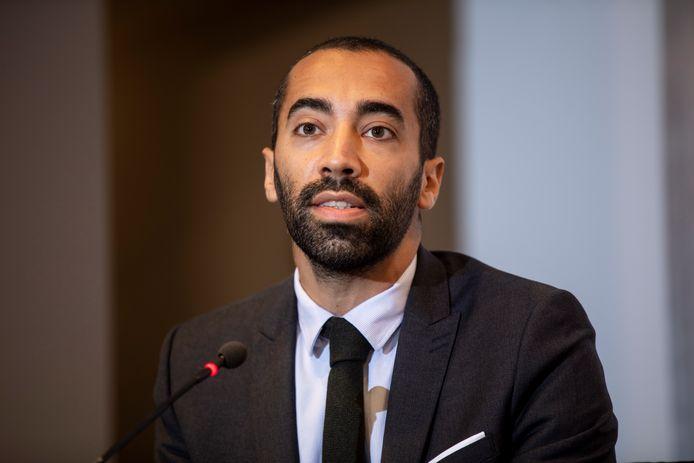 Staatssecretaris voor Asiel en Migratie Sammy Mahdi (CD&V).