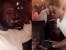 Lukaku s'est lui aussi offert un steak chez Salt Bae à Dubaï