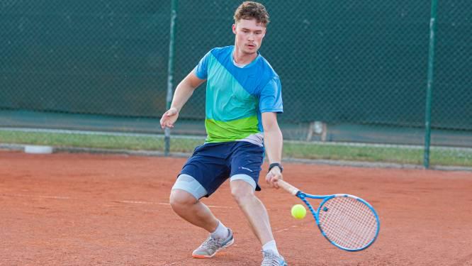 Veel performances in Tennis Tour in Merelbeke