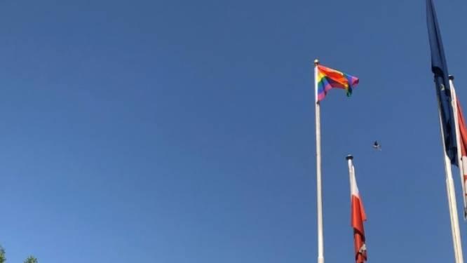 EU hijst regenboogvlag in Bagdad, Iraakse regering boos