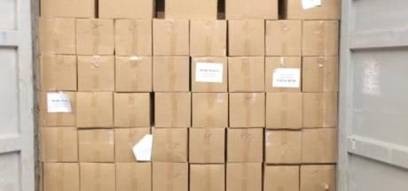 FIOD onderschept 19.000 kilo illegale waterpijptabak
