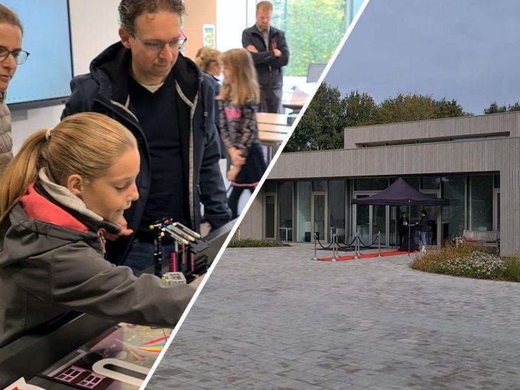 Ouders zien eindelijk vernieuwde IKC Magenta in Delden