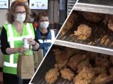 Gratis kip, friet en drank voor vaccinprikkers