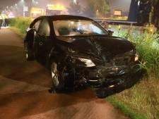 Veel schade na ongeval Prinses Beatrixlaan in Rijswijk