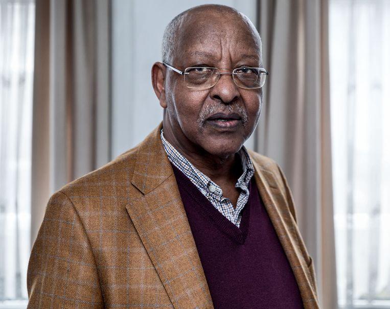 Leenco Lata: 'Op dit moment kan je in Ethiopië niet om etniciteit heen.' Beeld Jean-Pierre Jans