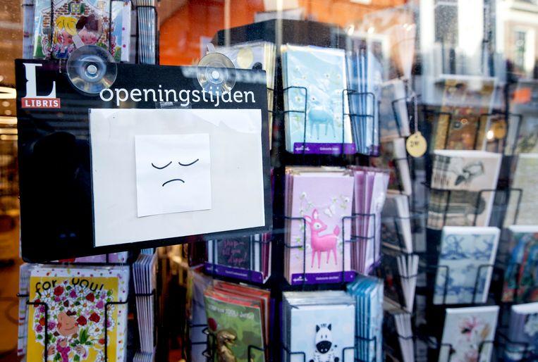 Op 10 februari mogen boekwinkels een afhaalloket openen. Pleidooien om boekwinkels evenals supermarkten aan te merken als 'essentiële winkels' zijn gestrand.  Beeld Hollandse Hoogte /  ANP
