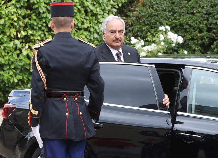 Generaal Khalifa Haftar Beeld AFP