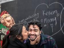 Tilburgse liefdesmuren: Kerem hartje Meeny