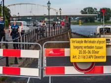 Gebiedsafsluiting na overlast door feestende jongeren in Deventer ingetrokken: Verlaagde Wellepad weer toegankelijk