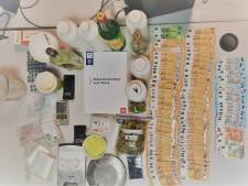 Speed, cannabis, XTC, cocaïne en ketamine gevonden bij huiszoeking verdachte