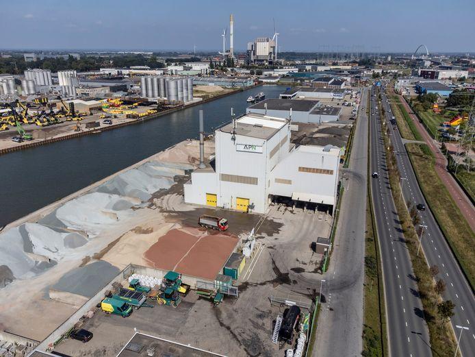 Dura Vermeer Asfalt Productie Nijmegen (APN).