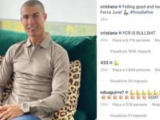 """""""Les tests PCR, c'est de la merde"""": le coup de gueule de Cristiano Ronaldo, toujours positif à la Covid-19"""