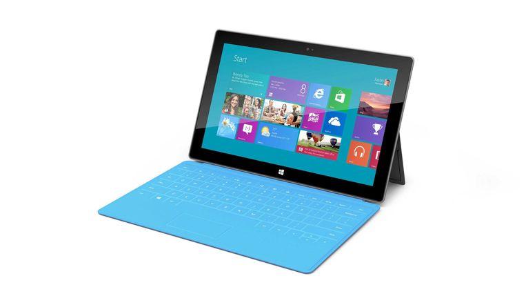 Windows RT op een Microsoft Surface-tablet Beeld epa