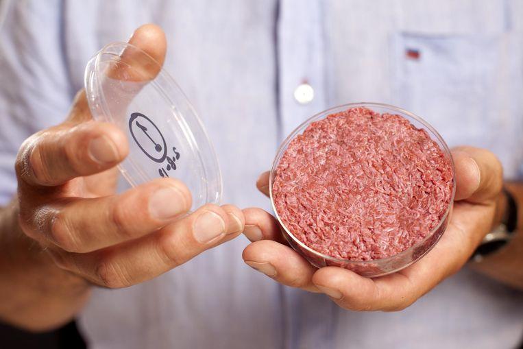 'We moeten nieuwe technologieën durven te omarmen voor de productie van kweekvlees en kunstmelk, bijvoorbeeld.' Beeld RV
