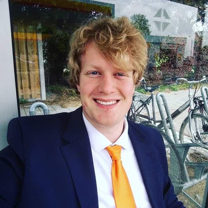 Jos van Ginneken, CDA-fractievoorzitter in Terneuzen.