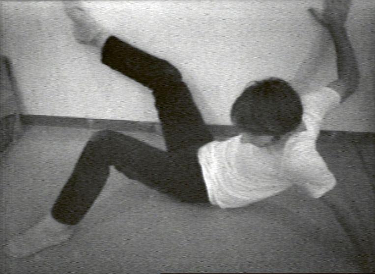 Still Bruce Nauman, 'Wall-Floor Positions', 1968  Beeld Bruce Nauman/ProLitteris