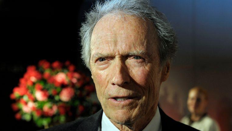 Clint Eastwood, begin februari dit jaar. Beeld AP