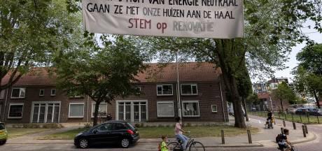 Gildebuurt in Eindhoven moet nu echt kiezen tussen sloop/nieuwbouw en renovatie, de spandoeken hangen al!
