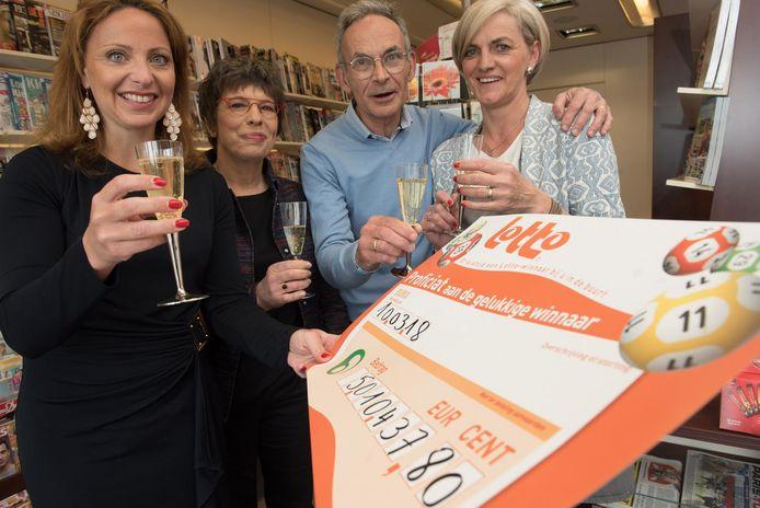 Voor Jo en Martine is het al de derde keer dat een klant in hun zaak de jackpot wint.
