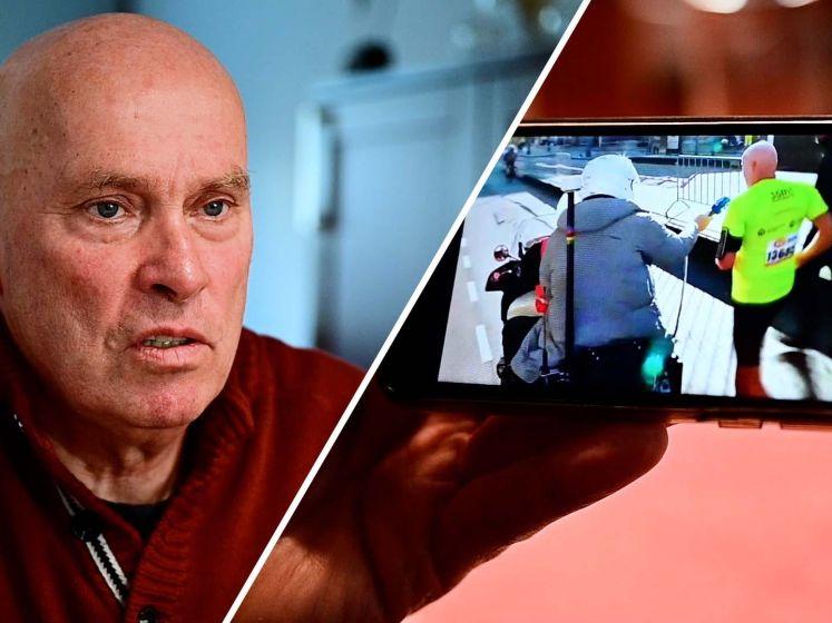 Marathonloper Bert (67) ging als állerlaatste over de Coolsingel: 'Het was geweldig!'