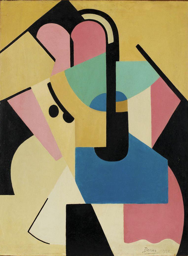 Abstracte compositie nr. 6, 1920. Beeld MSK GENT