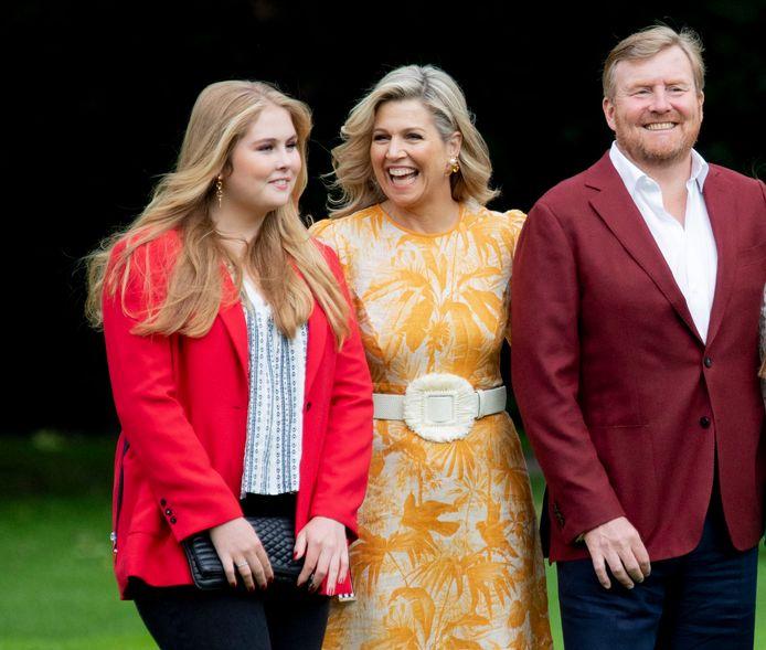 De Nederlandse prinses Amalia (17) heeft afgelopen donderdag haar diploma ontvangen.