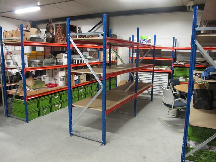 Het onlangs in gebruik genomen depot biedt Museum Boxtel tal van nieuwe mogelijkheden.