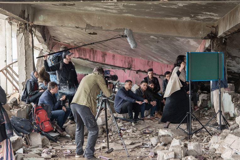 Orestes in Mosul Beeld Podium 19