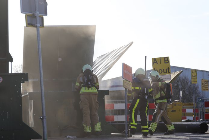 De brandweer had de brand snel geblust.