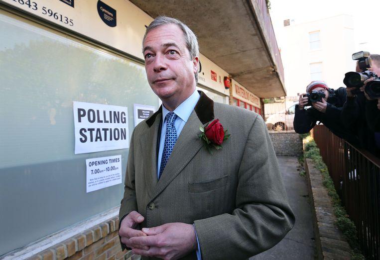 Nigel Farage. Beeld PHOTO_NEWS
