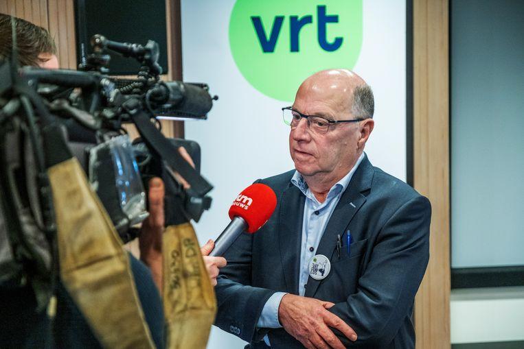 Leo Hellemans, interim-CEO van de VRT. Beeld Tim Dirven