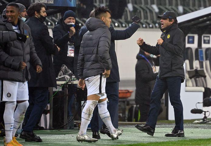 Antonio Conte le sait: l'Inter n'a fait qu'une partie du chemin en s'imposant à Mönchengladbach.