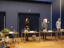 Raad van Oisterwijk alsnog aan de slag, met bloemen voor wie er niet bij is