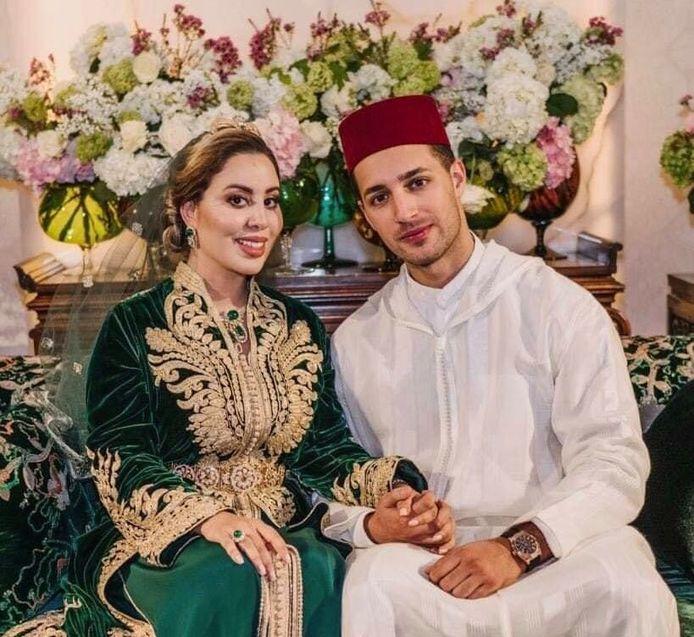 De Marokkaanse Lalla Nouhaila is getrouwd met Ali El Hajji