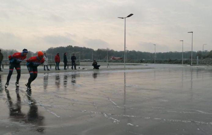 De IJsbaan in Winterswijk.