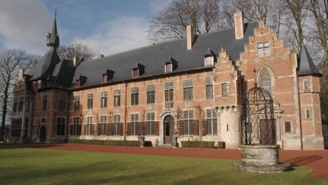 Brand in kasteel Groot-Bijgaarden