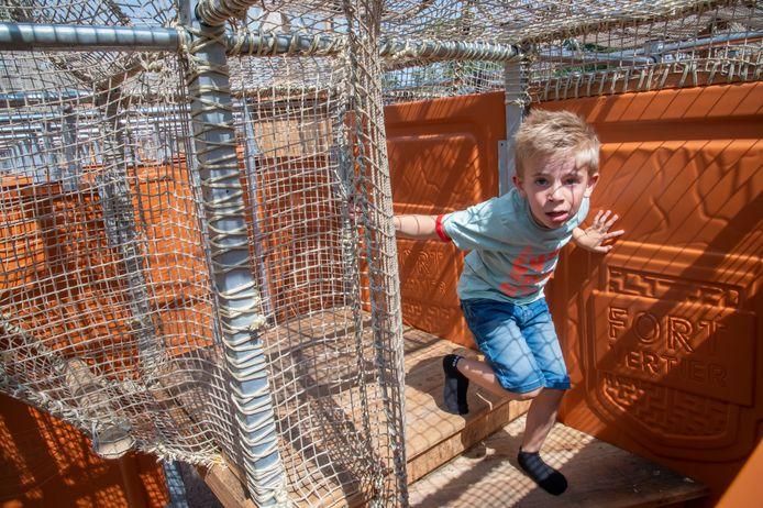 Harderwijk heeft er een nieuwe kinderattractie bij: Fort Vertier.
