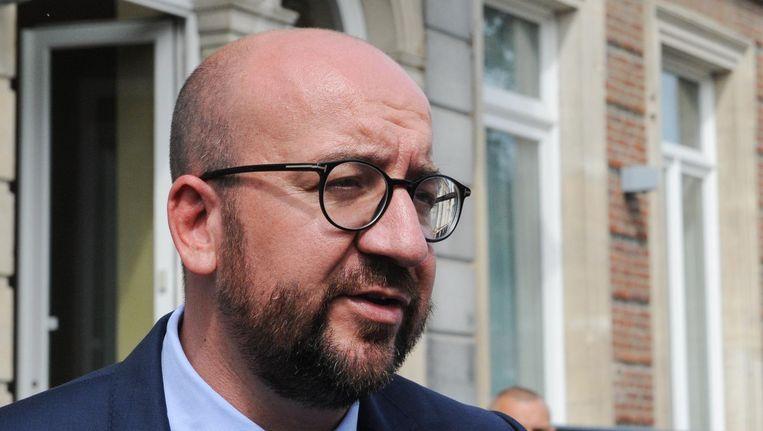 Premier Charles Michel Beeld belga