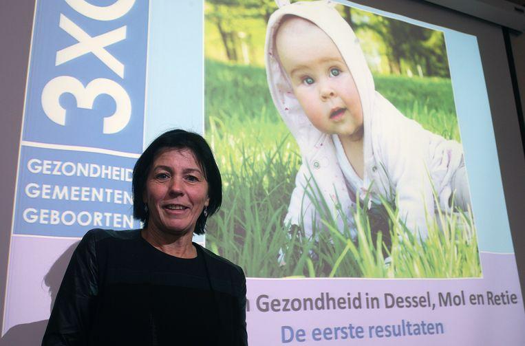 Milieutoxicologe Greet Schoeters. Beeld Vanderveken