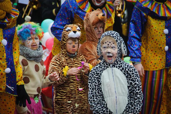 De kindercarnavalsoptocht door Delden. Heel veel meer carnaval is er niet in het stadje, voor het Aparthotel een ideale reden om zich te richten op de gasten die helemaal niks met het feest hebben.