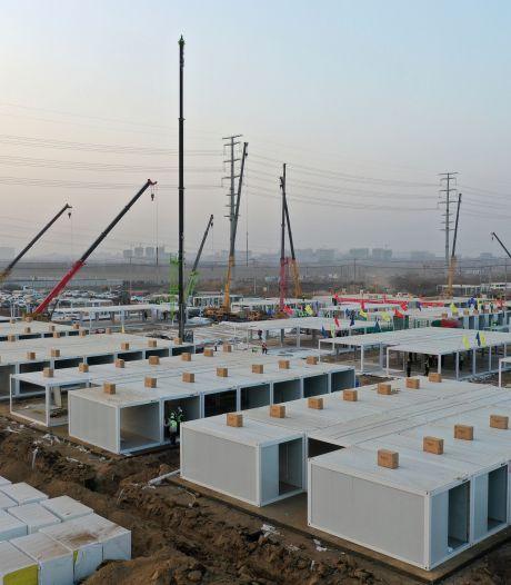L'énorme entre de quarantaine chinois pourra accueillir plus de 4.000 personnes