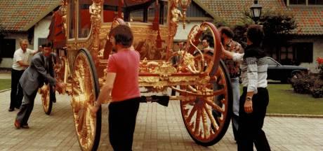 Gouden Koets was in 1977 publiekstrekker in Drunen: 'Mensen zaten urenlang naar de koets te staren'