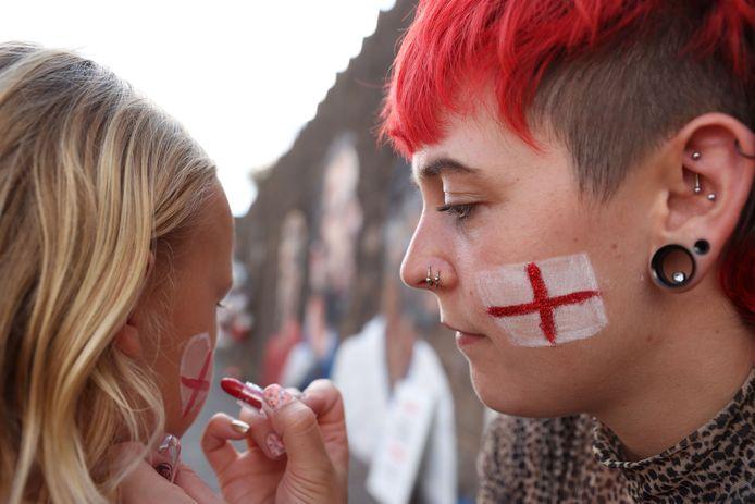 Fans van Engeland.