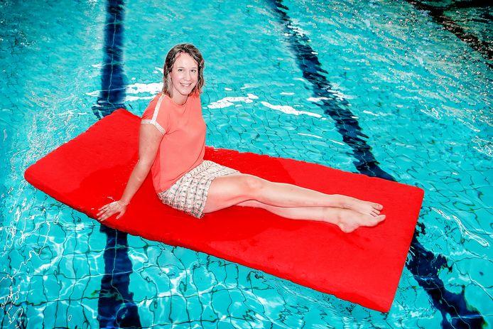 """Nina Van Koeckhoven: """"Ik kijk wel uit naar de Spelen en het zwemmen ga ik toch op de voet volgen."""""""