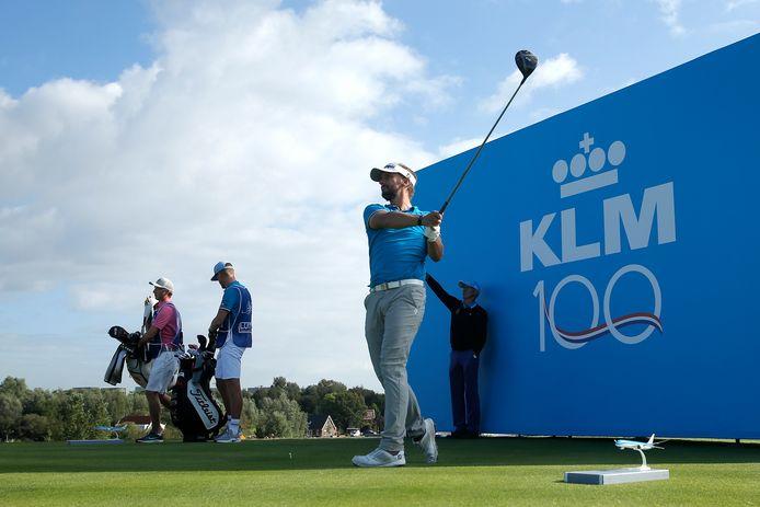 Archieffoto: Joost Luiten in 2019 bij het prestigieuze golftoernooi in Nederland.
