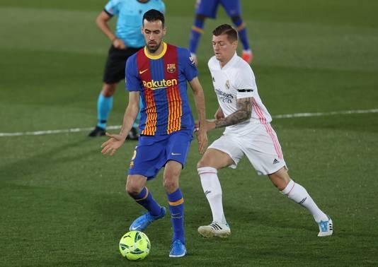 Real Madrid en Barcelona: twee van de drie Spaanse clubs die een Super League wel zien zitten.